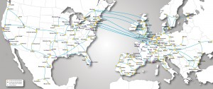 Mapa conectividad cogent communications