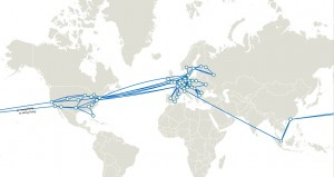 Mapa conectividad teliasonera international carrier